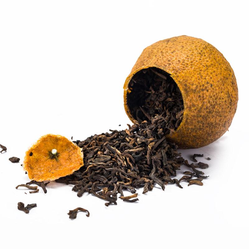 清香型大红柑普洱茶