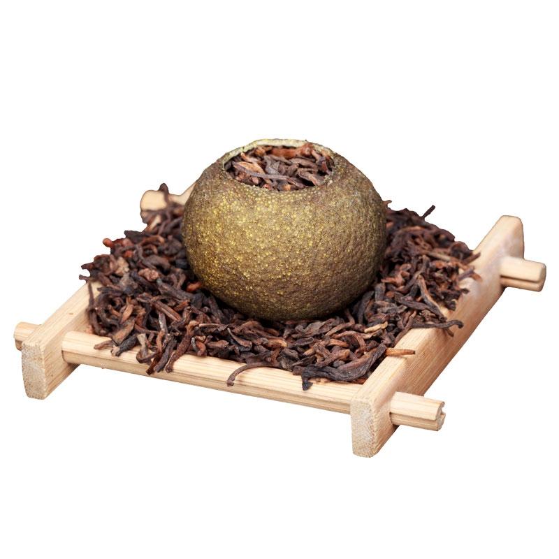 清香型小青柑皮普洱茶