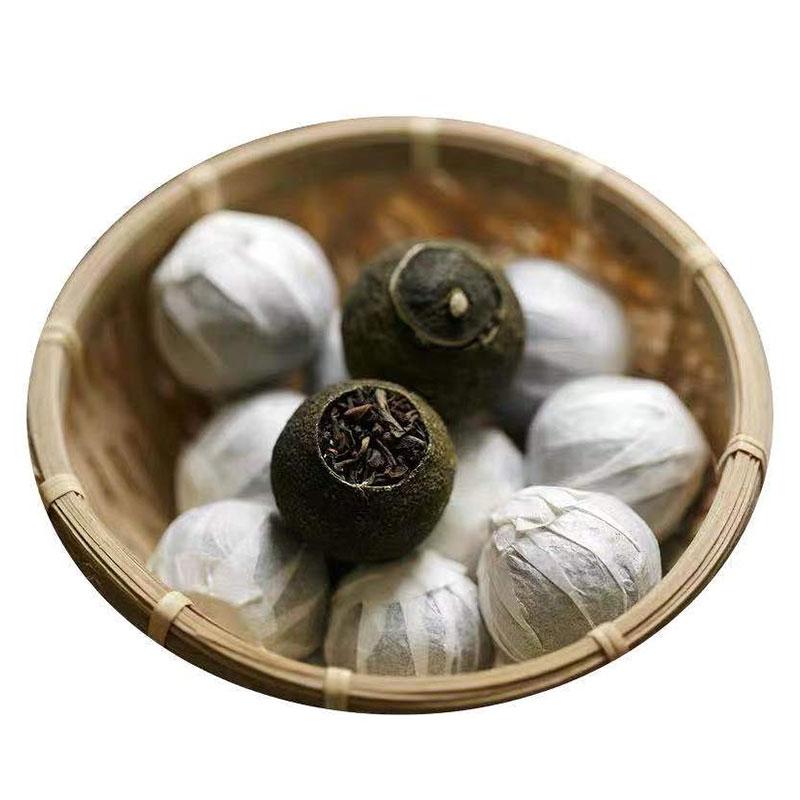 生晒型小青柑皮普洱茶